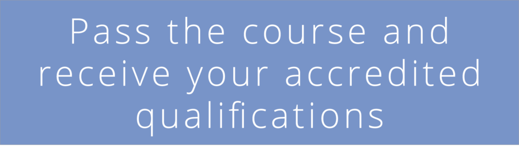 CMP course delivery - Pass the course and receive your accredited qualifications