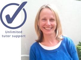 Copywriting course tutor, Justine Holman