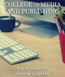 Public relations course subjects image
