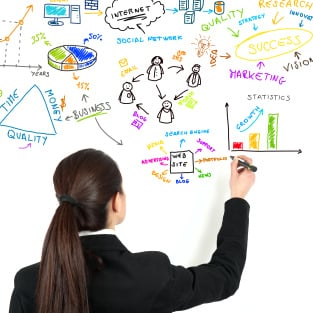 Online accredited public relations course college of media and online pr course student studying by whiteboard fandeluxe Choice Image