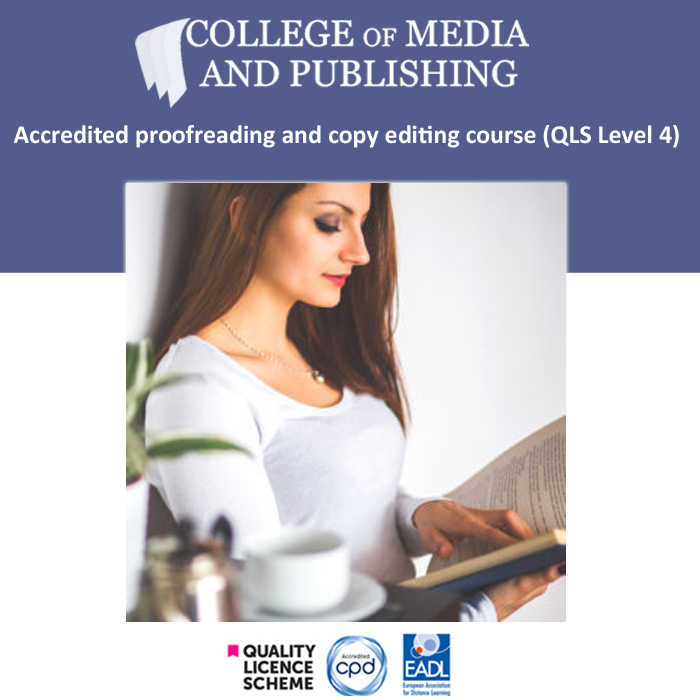 Proofreading and copy editing course