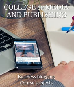 Business blogging course subjects