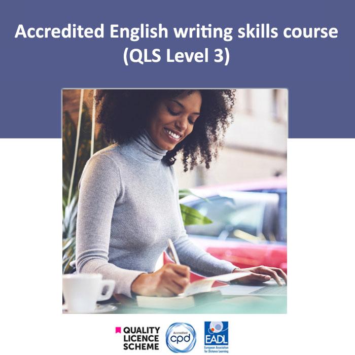 English writing skills course