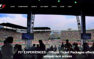 Formula 1 website