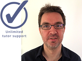 Sports journalism course tutor: Paul Clark