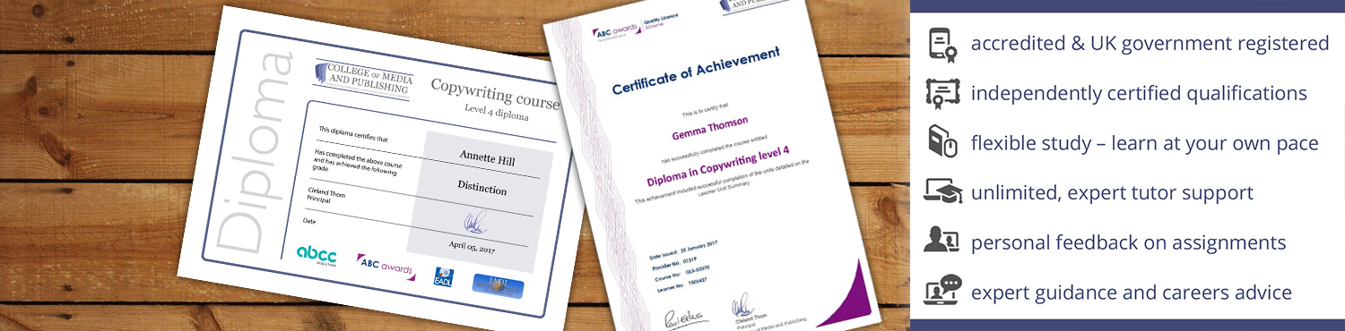 Accredited online qualifications