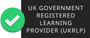 We are a UK government registered learning provider