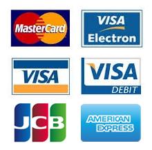 Credit and debit card logos